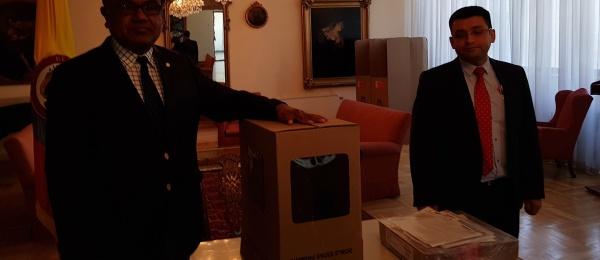 Moscú dio apertura a la jornada electoral de votación en el exterior en 2018