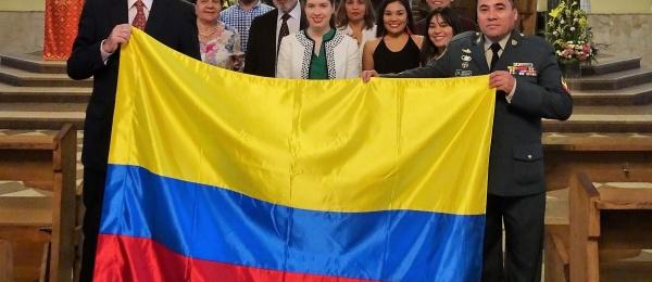 Consulado de Colombia en Moscú se unió a la conmemoración de los 208 años de Independencia Nacional